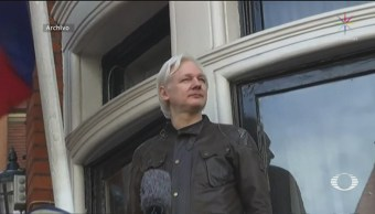 Foto: Julian Assange Detenido Ecuador Londres 11 de Abril 2019