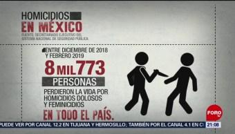 Foto: Inseguridad México Violencia México 2 de Abril 2019