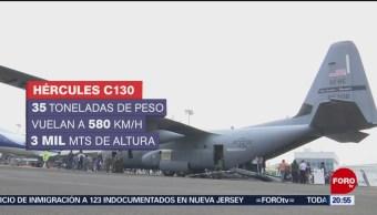 Foto: Llegan México Aviones Caza Huracanes 8 de Abril 2019