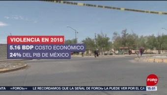 Foto: Los costos de la violencia en 2018