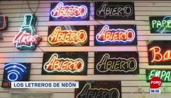 Los letreros de neón