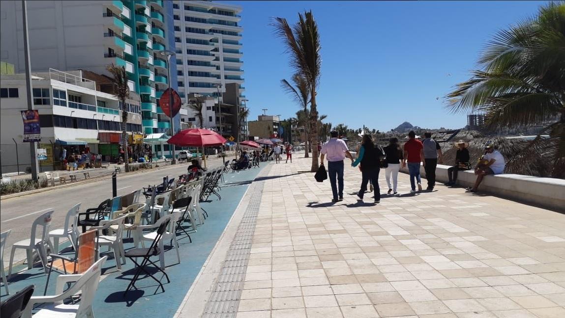 Foto: Malecón de Mazatlán, Sinaloa, 5 de marzo 2019. Twitter @sinaloa_sectur