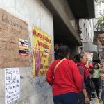 Foto: Manifestaciones en embajada venezolana en México, 30 de abril de 2019, Ciudad de México