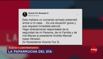 Foto: Vicente Fox Comando Armado Paparrucha Del Día 8 de Abril 2019