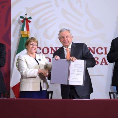 Muertes violentas en México, propias de un país en guerra: Michelle Bachelet