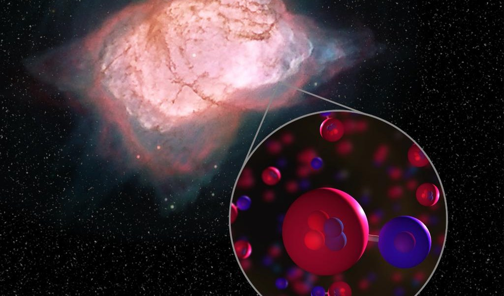 Descubren la primera molécula que se formó en el universo
