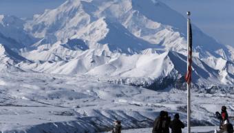 Foto: Nevado en el Parque Nacional Denali, Alaska, 11 de septiembre de 2015, Estados Unidos