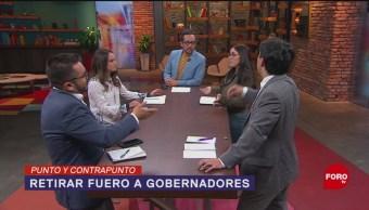 Foto: Morena busca eliminar el fuero a los gobernadores