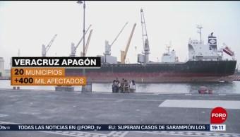 Foto: Municipios De Veracruz Se Quedan Sin Luz Apagon 29 de Abril 2019