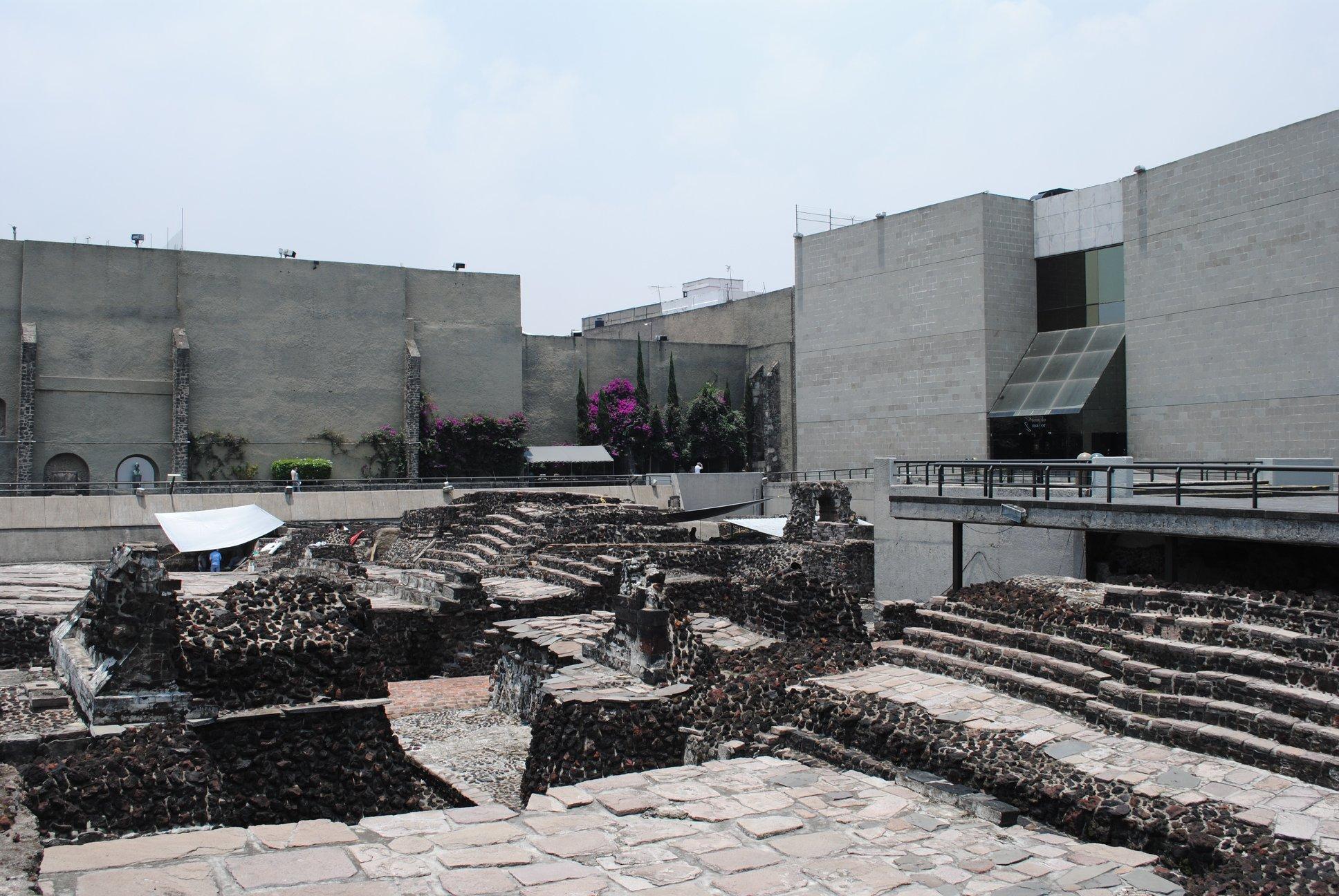 foto museo y zona arqueologica del templo mayor facebook 23 febrero 2019