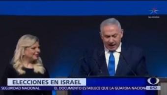 Netanyahu se perfila para ganar elecciones y quinto mandato en Israel