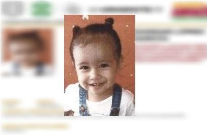 Foto: Nancy Dannae López García fue sustraída del departamento donde encontraron a su madre muerta, 26 abril 2019
