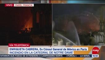 Foto: Notre Dame, vinculada a la historia de París y de Francia: Enriqueta Cabrera