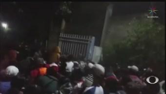 Foto: Nueva Caravana Migrantes Centroamericanos Ingresa México 12 de Abril 2019