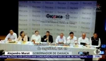Oaxaca reforzará seguridad en vías que comunican con Minatitlán