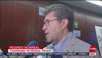FOTO: Operación de Guardia Nacional es legal: Monreal, 28 ABRIL 2019