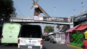 SSC aplica cortes viales por Viacrucis de Iztapalapa