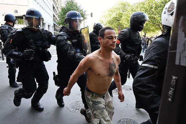 Foto: Diversos disturbios se han registrado en las calles de París, 20 abril 2019