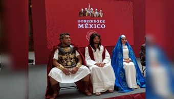 Foto: Alfonso Reyes Ramírez será Poncio Pilatos en la representación 176 de la Pasión de Cristo de Iztapalapa, 12 abril 2019