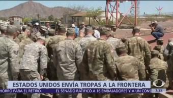 Pentágono enviará más soldados a frontera con México