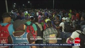 FOTO: Pobladores de Chiapas retiran apoyos a migrantes centroamericanos, 21 ABRIL 2019
