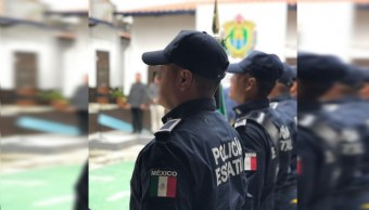 Fotografía que muestra a Policías de Veracruz, 3 abril 2019