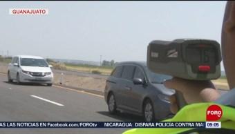 FOTO:Policía Federal refuerza operativos de seguridad en carreteras de Guanajuato, 21 ABRIL 2019