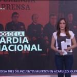 Presentan titulares de la Guardia Nacional