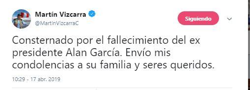 Foto Muere el expresidente peruano Alán García 17 abril 2019