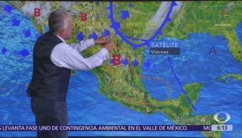 Pronostican caída de nieve y aguanieve en norte y noroeste de México