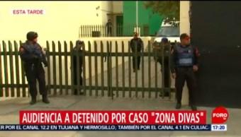FOTO: Realizan audiencia a detenido por caso 'Zona Divas', 6 de abril 2019