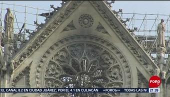FOTO: Recaudan fondos para reconstrucción de Notre Dame, 18 ABRIL 2019