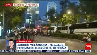 Foto: Reforma Bloqueos Manifestantes Marcha CDMX Trafico 2 de Abril 2019
