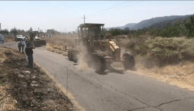 Rehabilitan rutas de evacuación de zonas cercanas al Popo