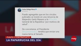 Foto: Renuncias Gabinete AMLO Fake News 9 de Abril 2019