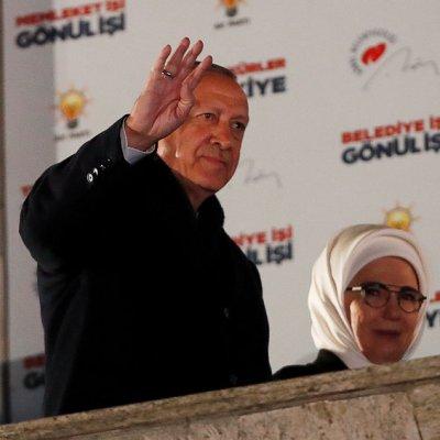Erdogan da por ganadas las elecciones locales turcas
