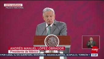 Se analizará incidente que Trump denuncia en frontera, comenta AMLO
