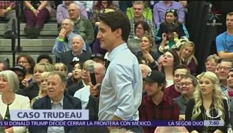 Se complica crisis política para Justin Trudeau por grabación