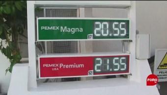 FOTO: Se mantiene precio de gasolina pese a aumentó de subsidio, 7 de abril 2019