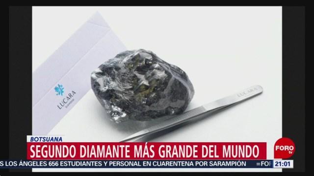FOTO: Segundo diamante más grande del mundo en Botsuana, 27 ABRIL 2019