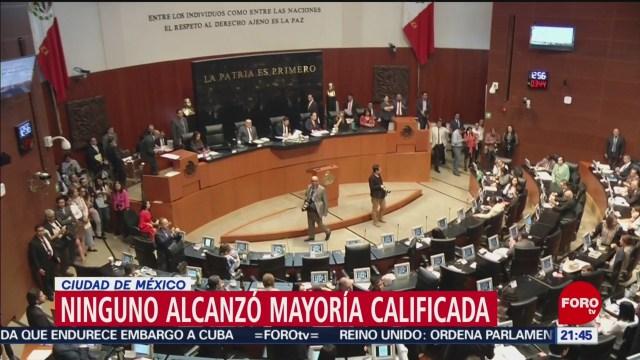 Foto: Senado vuelve a rechazar ternas para la CRE; AMLO los designará