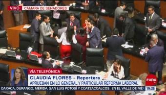 Foto: Senadores Aprueban Reforma Laboral 29 de Abril 2019