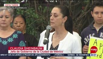 FOTO: Sheinbaum entrega a damnificados del 19-S edificio rehabilitado en Xochimilco, 19 ABRIL 2019