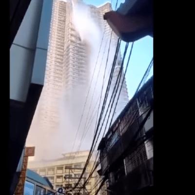 VIDEO: Sismo en Filipinas vacía alberca de rascacielos