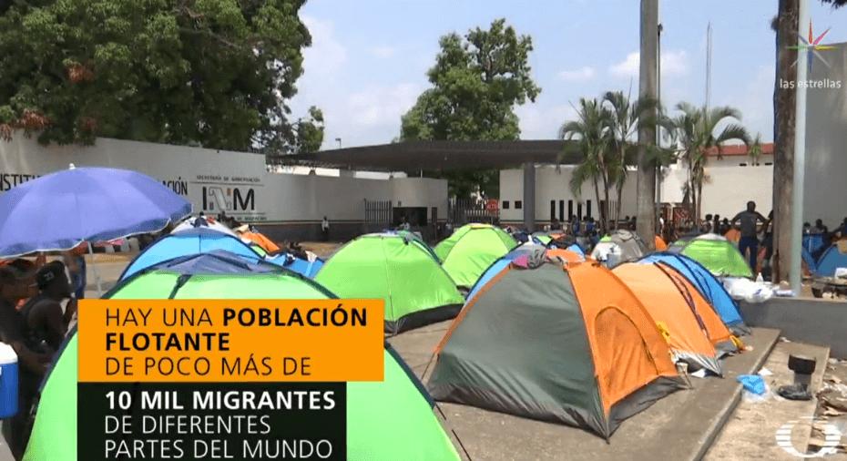 FOTO Tapachula se convierte en refugio de migrantes de todo el mundo (Noticieros Televisa abril 2019 chiapas)