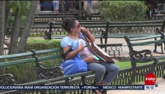 FOTO: Temperaturas alcanzan los 40 grados en Yucatán, 7 de abril 2019