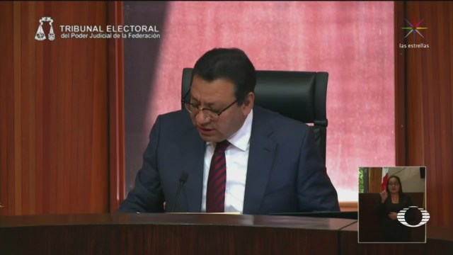 Foto: Tepjf Ordena Morena Explicar Cómo Seleccionó Barbosa Candidato 12 de Abril 2019