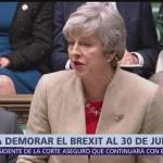 Theresa May pide a Unión Europa nueva prórroga para Brexit