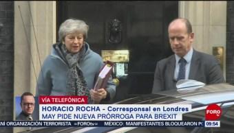 FOTO: Theresa May pide nueva prórroga para Brexit, 6 de abril 2019