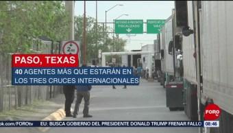 FOTO: Transportistas sufren graves pérdidas ante falta de personal en aduana Chihuahua, 13 de abril 2019